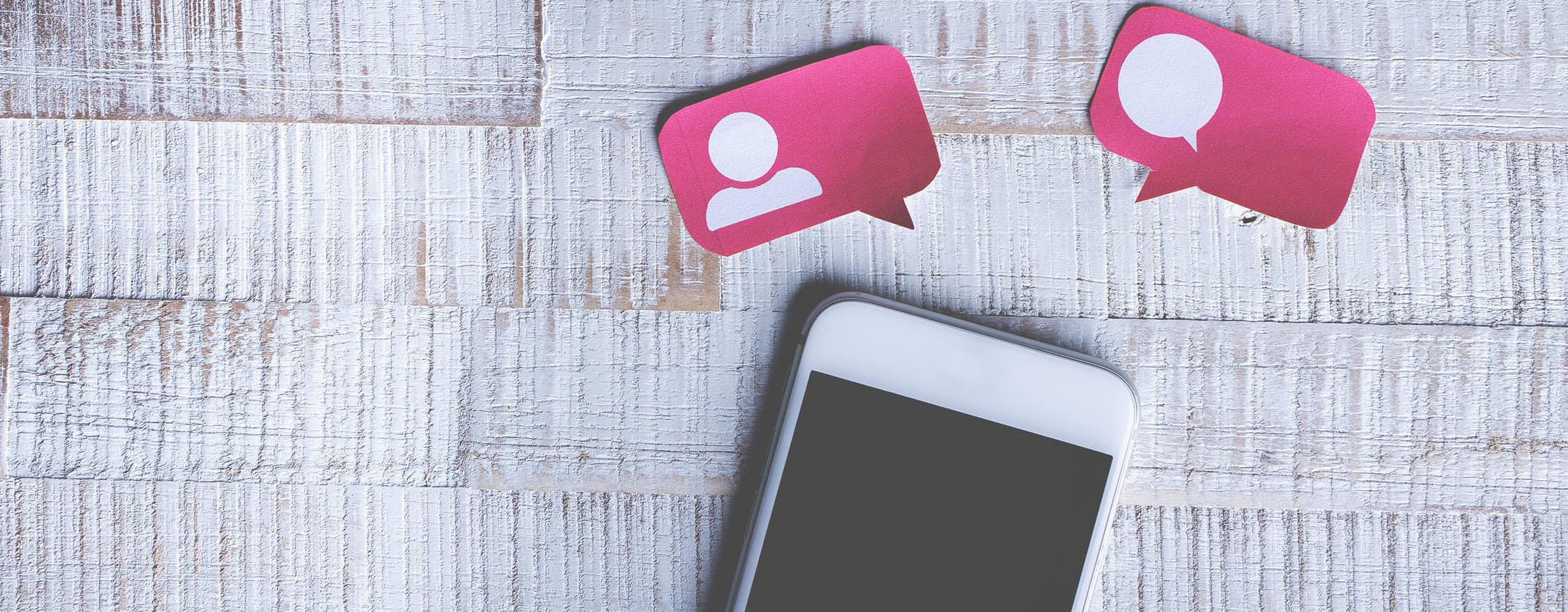 smartphone message