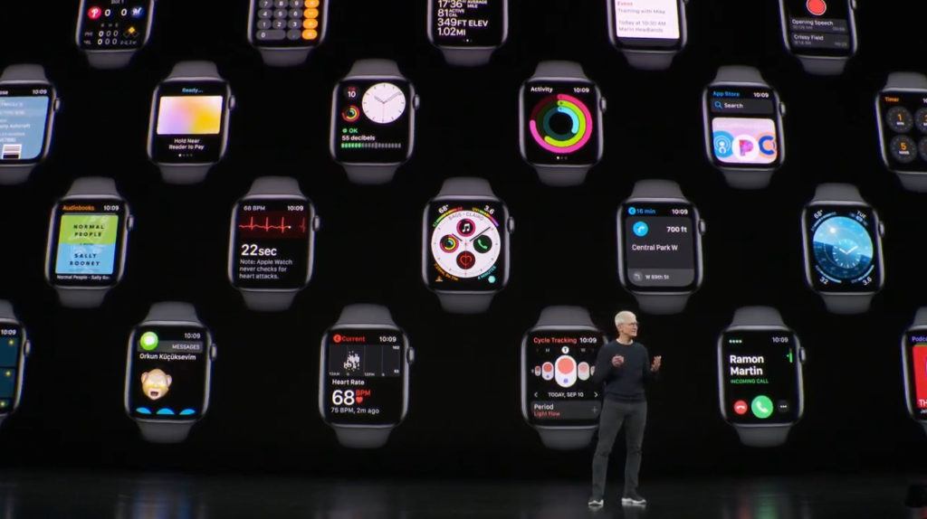 apple watch 5 et tim cook