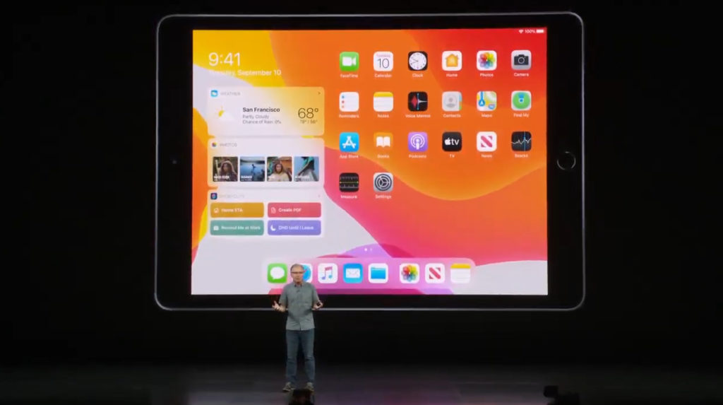 ipad 7th generation Keynote 2019