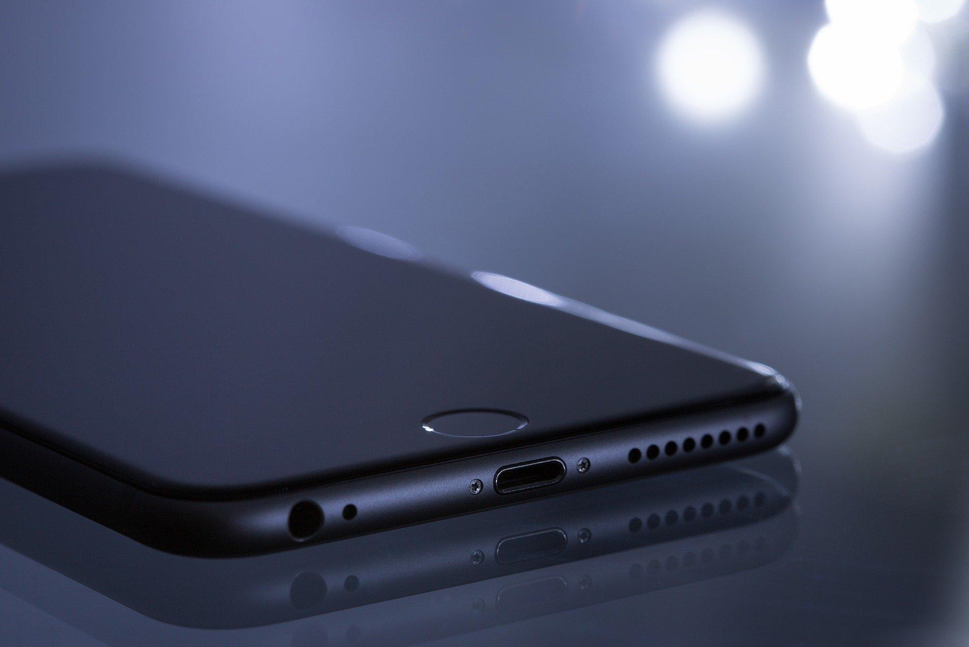 téléphone dans le noir